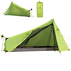 ultralight one person tent Andake Ultralight Tent 780g