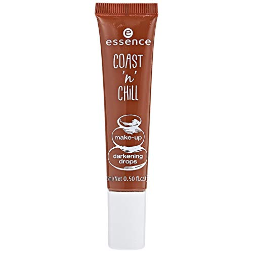Essence Coast n Chill Make Up darkening drops Nr. 02 keep calm & make me darker Inhalt: 15ml Hochpigmentierte Tropfen zur Abdunklung jedes flüssigen Make-Ups.