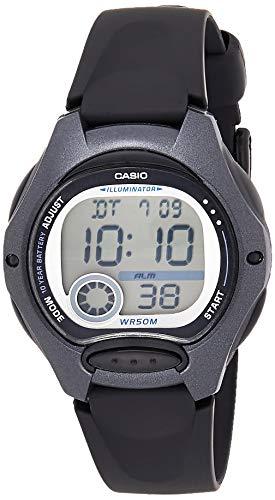 Casio Reloj Digital para Mujer de Cuarzo con Correa en Plástico LW-200-1BVEG