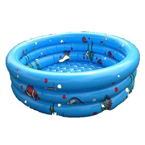 Portable baby Opblaasbare Badkuip, Mini opblaasbaar zwembad Kinderen Dik Foldable douchebak 90 * 30cm QIANGQIANG