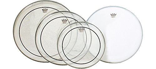 46. Remo Pinstripe Clear Drumhead Pack