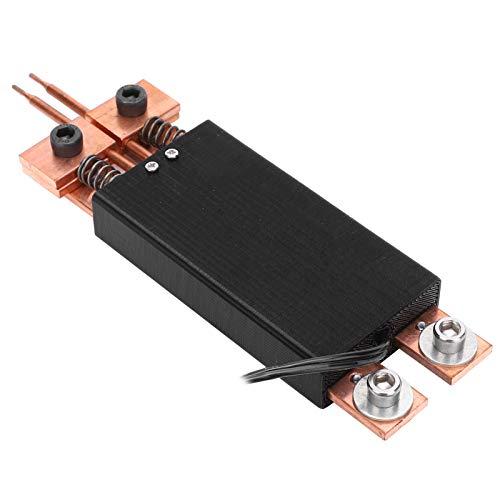 Punktschweißstift, Handpunktschweißgerät, Punktschweißgerät Punktschweißstift für akkus, DIY Automatischer Auslöser Punktschweißausrüstung für die Heimindustrie (DC4-12V Schwarz)