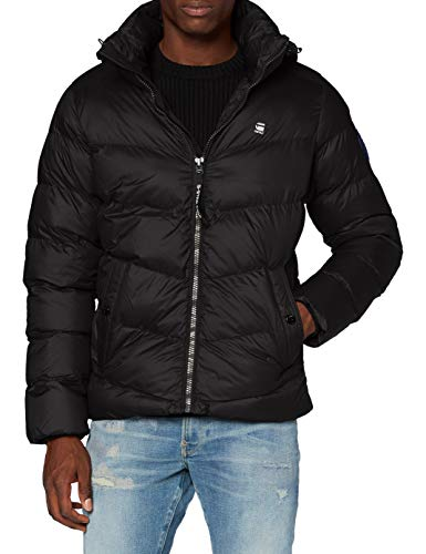G-STAR RAW Herren Jacket Whistler hdd puffer', Dk Black B958-6484, X-Large