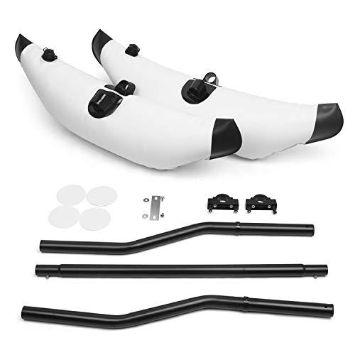 Lixada Kayak - Kit di stabilizzatore flatable Outrigger Float in PVC con bracci Sidekick