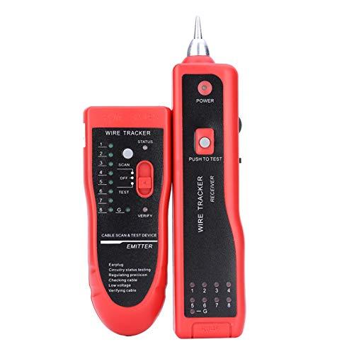 Jacksing Cable, rastreador de Cables, bajo Consumo de energía para la Industria Inicio UTP STP RJ45 RJ11