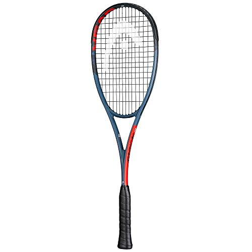 Head Graphene 360+ - Raqueta de squash, serie 2020, encordada, azul, rojo.