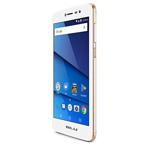 "BLU Studio Pro X8 HD - 5.0"" HD Smartphone with Dual Main Cameras -8GB +1GB RAM -Gold"