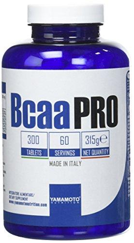 Yamamoto Nutrition Bcaa PRO Kyowa® Quality integratore alimentare a base di aminoacidi ramificati BCAA (300 compresse)