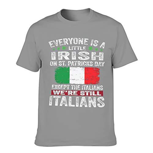 Männer T-ShirtsKurzen ÄrmelsTee Regular Fit T-Shirt BeiläufigeT-Stücke Dark Gray 5XL