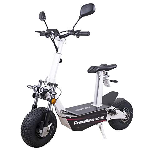 DeTec. Patinete eléctrico DT-PRMTS3000 con permiso de circulación | E-Scooter Prometheus incluye...