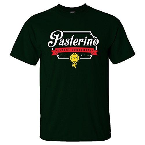 Battle Tiger - Camiseta - Hombre Verde Verde Oscuro Large