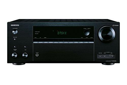Onkyo TX-NR656 (B) 7.2-Kanal-A/V-Netzwerk-Receiver (160 W/Kanal,DTS: X aufrüstbar, Dolby Atmos, AirPlay, 384 kHz/32-Bit D/A-Wandler, 8 HDMI-Eingänge/2 Ausgänge) schwarz