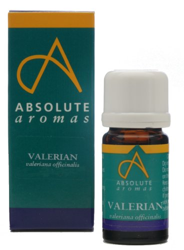 Absolute Aromas Valerian Essential Oil (valeriana officinalis) 5ml - 100% Pure, Natural, Undiluted and Vegan Friendly - For use in a Diffuser and Aromatherapy Blends