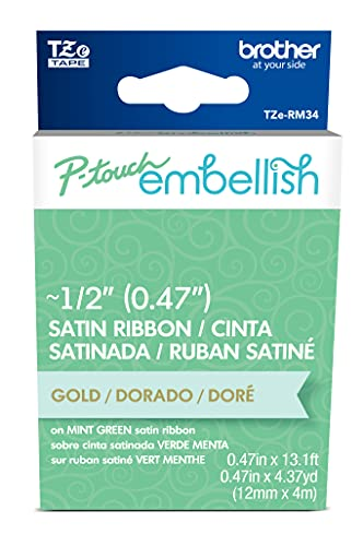 Brother P-touch Embellish Gold Prin…