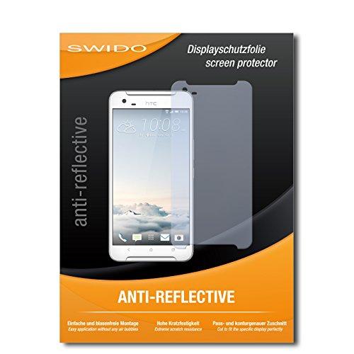 SWIDO Bildschirmschutz für HTC One X9 [4 Stück] Anti-Reflex MATT Entspiegelnd, Hoher Festigkeitgrad, Schutz vor Kratzer/Glasfolie, Schutzfolie, Bildschirmschutzfolie, Panzerglas Folie