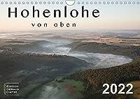 Hohenlohe von oben (Wandkalender 2022 DIN A4 quer): Erleben Sie die Region Hohenlohe aus der Luft. (Monatskalender, 14 Seiten )