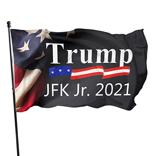 Acyliv Trump JFK Jr. 2021 Flag 3x5 Feet Banner Sign Garden Flag Car Flag