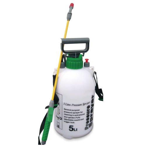 Garden Pressure Sprayer KNAPSACK WEEDKILLER Chemical Fence Water Spray...