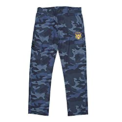 ASPETTO Boys Cotton Cargo Trouser
