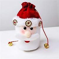 巾着クリスマスバッグ、クリスマスキャンディバッグ、クリスマスウェディングパーティークリスマスグッディバッグ,6