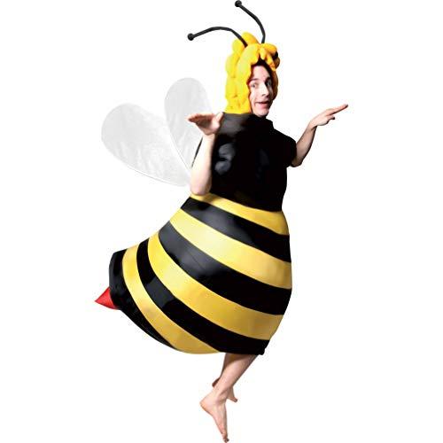 P 'tit Clown–90419–Kostüm Erwachsene aufblasbar Biene–Einheitsgröße