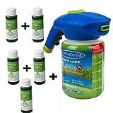 LSGD Pulverizador de Semillas, Sistema de césped líquido Pulverizador de Semillas de césped con nutritiva, para el Sistema de siembra doméstica de Pasto de Semillas para el Cuidado del césped (5)