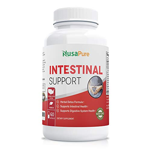 Intestinal Support for Humans (Non-GMO & Gluten Free) with...