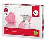 Rayher 34287000 Bastelset Knetseife Love zum Herstellen von selbstgemachter Seife in Herzform, 100%...