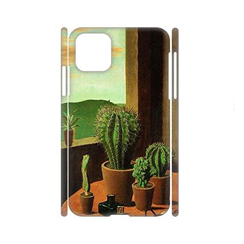 para Niños Cáscara Dura Rígida del Teléfono De Plástico Kawaii Compatible con Samsung Galaxy Note20 Tener Cactus