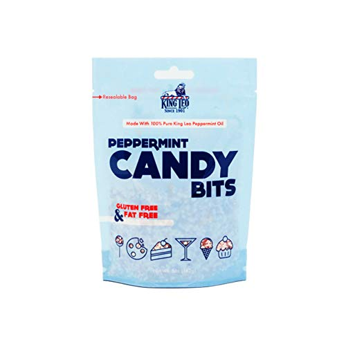 King Leo Crushed Candy, Peppermint, 5 Ounces