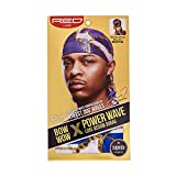 KISS RED Bow Wow Power Wave Luxe Design Durag HDUPPL04 (Navy Blue)