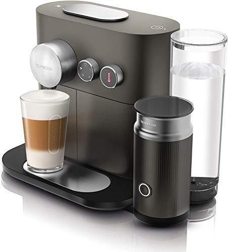 DeLonghi EN355.GAE Macchina per Il caffè con Sistema a Capsule Nespresso, 2090 W, 1.1 Litri, Acciaio Inossidabile, Grigio