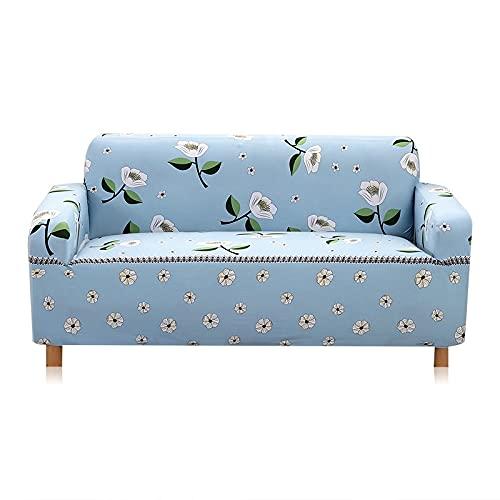 WXQY Funda de sofá elástica Funda de sofá de Sala de Estar Funda de sofá elástica elástica Funda de sillón de Esquina en Forma de L Funda de sofá A11 4 plazas