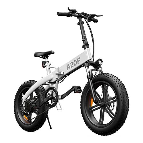 Bicicleta eléctrica Plegable ADO A20F para...