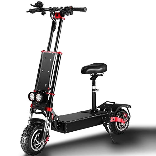 CAMTOP Plegable Scooter Electrico Adulto Todoterreno Patinetes Electricos 5600W Motor Dual Frenos...