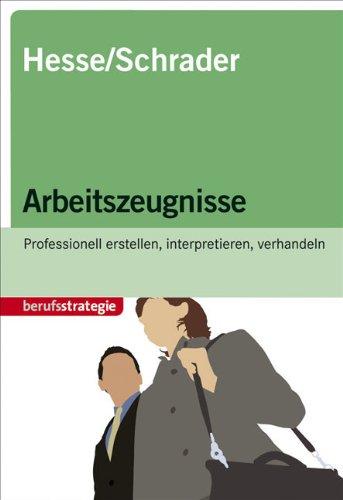 STARK Hesse/Schrader: Arbeitszeugnisse