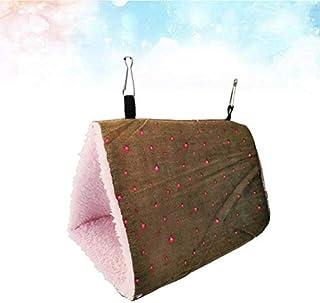 Bird Cages & Nests - 1Pc Triangle Thicken Warm Bird Nest Minimalist Parrot Bed House Birds Hammock for Parrot Birds Size (...