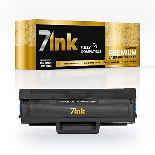 Logic-Seek - Tóner para Samsung MLT-D1042S (repuesto para impresoras Samsung ML-1660, ML-1865, ML-1670, ML-1675, ML-1860, SCX-3200, SCX-3205, SCX-3205W), color negro