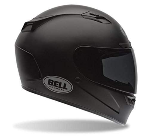 Bell Vortex Unisex-Adult Full Face Street Helmet (Solid Matte Black, Medium) (D.O.T.-Certified)