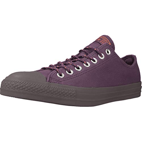 Converse Unisex Chuck Taylor All Star with Thermal Lining (13.5 Women/11.5 Men, Dark Sangria/Terra Red)