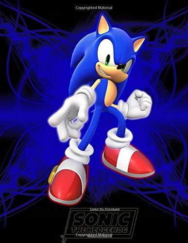Sonic The Hedgehog Libro Da Colorare: Bellissimo Libro Da Colorare Con Tutti I Tuoi Personaggi Sonic Preferiti