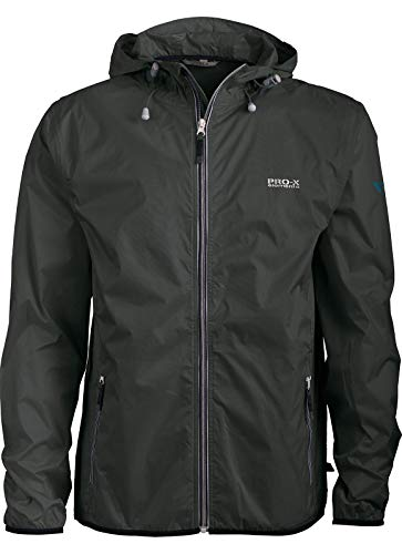 PRO-X elements Kinder Jacke Cleek Jr., Anthrazit, 176, 9761