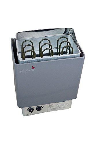 Saunaofen 6 kW für 380V mit integrierter Steuerung