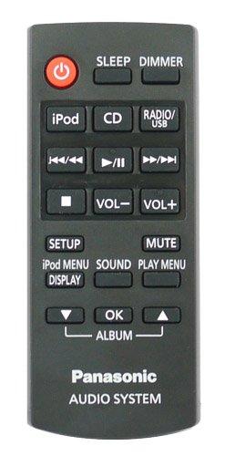 Panasonic n2qayc000059ricambio per PANASONIC Micro Sistema HiFi–con due 121AV AAA batterie incluse.