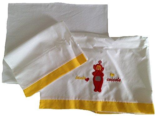Ensemble de lit berceau Vêtement bébé Teletubbies Po *12571