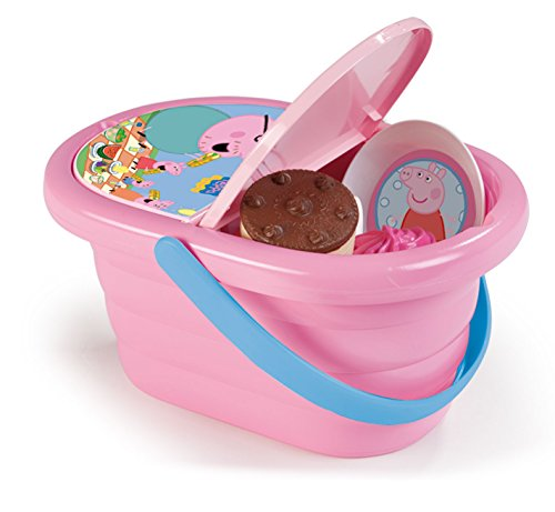 Smoby Enchantimals Picknickkorb für Kinder Picknickkorb Peppa Pig 24.4 x 13.7 x 12.7 Rosa