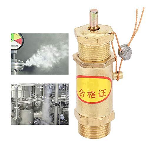 Veiligheidsklep, G3/8 overdrukklep, G3/8 luchtcompressor Veiligheidsklep, compressorklep voor ketelstoomgenerator, 2KG, 3KG, 5KG(2KG)
