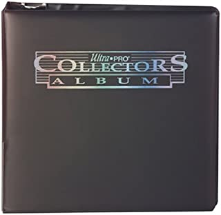 Ultra Pro 3 Black Collectors Album
