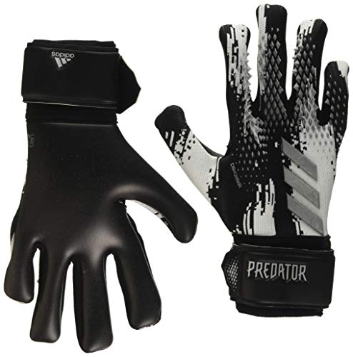 adidas Herren Predator League Torwarthandschuhe, Black/White/Silvmt, 9