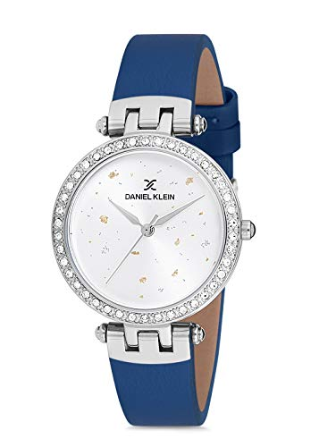 Daniel Klein Reloj de pulsera para mujer (DK12199) – Correa de cuero – 32 mm analógico relojes...